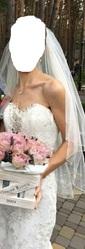 Свадебное платье рыбка продам