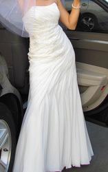Продам красивое свадебное платье,  одевалось 1 раз