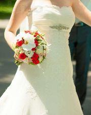 Продам б/у свадебное платье (произв. Испания) в Харькове