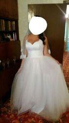 Свадебное платье б/у для беременных