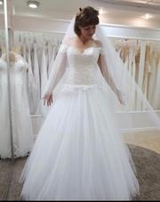 Продам платье + фата = 5000 грн