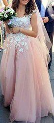 Продам свадебное платье цвета пудры. Размер S