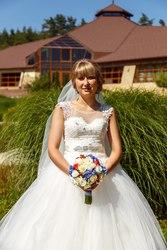 Продам свадебное платье от салона Шарм