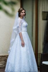 Свадебное платье Anna Sposa 46р белое