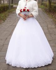 Шикарное свадебное платье Запорожье 1
