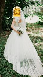 Продам шикарное свадебное платье б/у