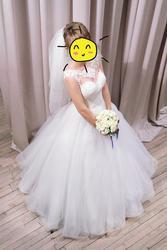 Изящное свадебное платье Anna Sposa