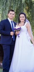 Красивое свадебное платье. Продам срочно!