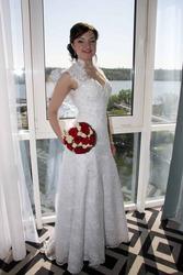 Продам шикарное платье А-силуэт в Запорожье