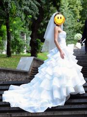 Дизайнерское свадебное платье Justin Alexander 8486