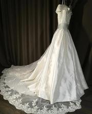 Свадебное платье итальянского дизайнера. Платье новое