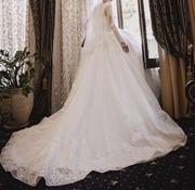 Свадебное платье ,  пошитое на заказ