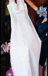 Продам свадебное платье А-силуетное.