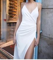 Свадебное платье Mila nova б/у отличное состояние,  а-силуэт,  XS